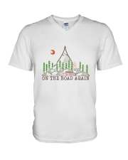 On The Road Again V-Neck T-Shirt thumbnail