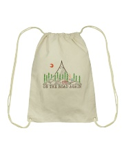 On The Road Again Drawstring Bag thumbnail