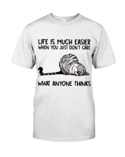 Life Is Much Easier Classic T-Shirt front