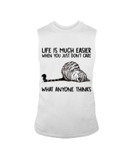 Life Is Much Easier Sleeveless Tee thumbnail