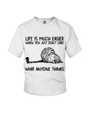 Life Is Much Easier Youth T-Shirt thumbnail