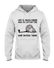 Life Is Much Easier Hooded Sweatshirt thumbnail