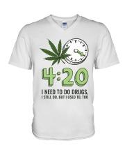 I Need To Do Drug V-Neck T-Shirt thumbnail