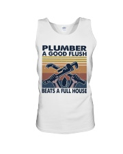 Plumber A Good Flush Unisex Tank thumbnail