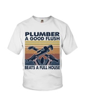 Plumber A Good Flush Youth T-Shirt thumbnail