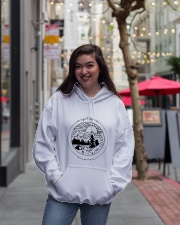Explore Wave Hooded Sweatshirt lifestyle-unisex-hoodie-front-2