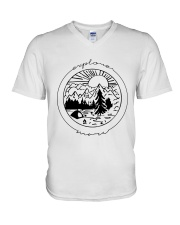 Explore Wave V-Neck T-Shirt thumbnail