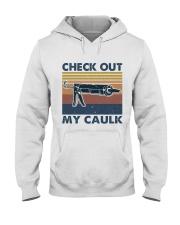 Check Out Me Caulk Hooded Sweatshirt thumbnail