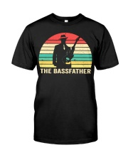 The Bassfather Classic T-Shirt front