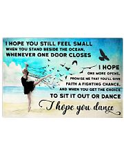 I Hope You Still Feel Small 17x11 Poster front