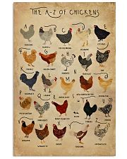 The A-Z Of Chickens 11x17 Poster front