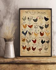 The A-Z Of Chickens 11x17 Poster lifestyle-poster-3