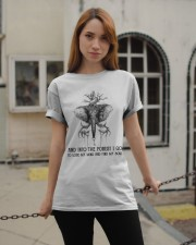 And Into The Forest I Go Classic T-Shirt apparel-classic-tshirt-lifestyle-19