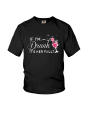 Its Her Fault Youth T-Shirt thumbnail