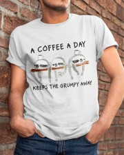 A Coffee A Day Classic T-Shirt apparel-classic-tshirt-lifestyle-26