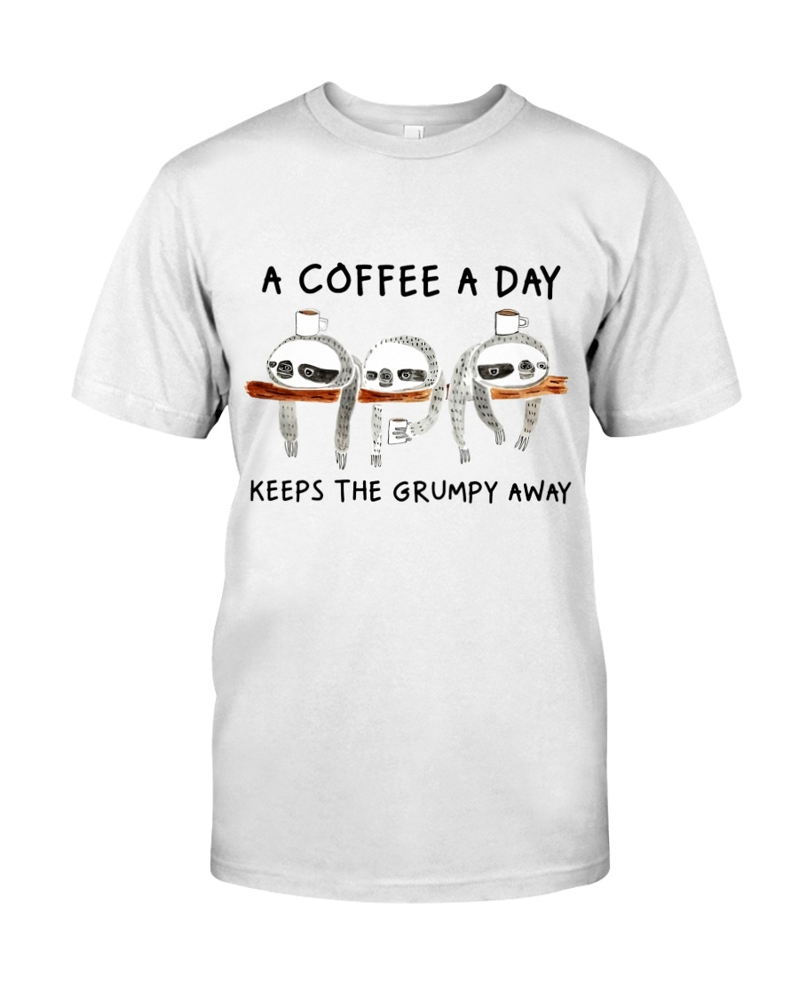 A Coffee A Day Classic T-Shirt