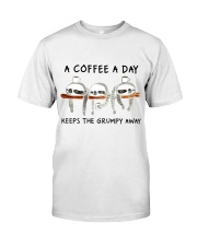 A Coffee A Day Classic T-Shirt front