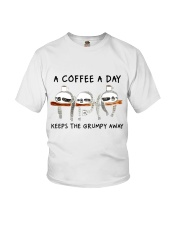 A Coffee A Day Youth T-Shirt thumbnail