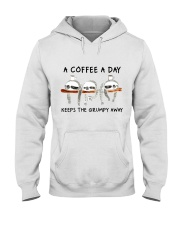 A Coffee A Day Hooded Sweatshirt thumbnail
