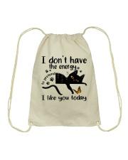 I Like You Today Drawstring Bag thumbnail