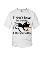 I Like You Today Youth T-Shirt thumbnail