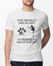 Dogs And Ballet Classic T-Shirt lifestyle-mens-crewneck-front-13
