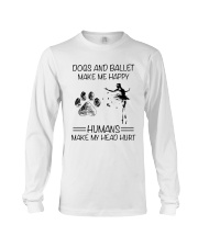 Dogs And Ballet Long Sleeve Tee thumbnail