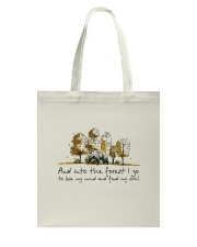 And Into The Forest I Go Tote Bag tile