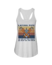 Laying Pipe Ladies Flowy Tank thumbnail