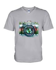 Photographer V-Neck T-Shirt thumbnail