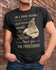I'm A Book Reader Classic T-Shirt apparel-classic-tshirt-lifestyle-26