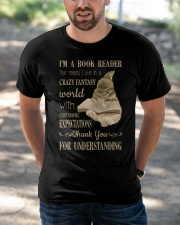 I'm A Book Reader Classic T-Shirt apparel-classic-tshirt-lifestyle-front-50