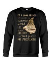 I'm A Book Reader Crewneck Sweatshirt thumbnail