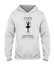 Assuming I'm Just An Old Lady Hooded Sweatshirt thumbnail