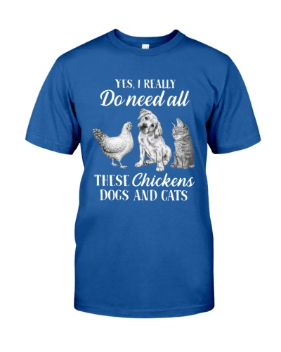 These Chickens Dogs And Cats