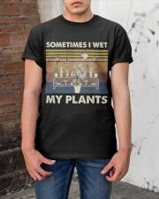 Sometimes I Wet My Plants Classic T-Shirt apparel-classic-tshirt-lifestyle-31