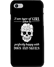 Dogs And Skulls Phone Case thumbnail
