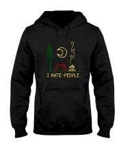 I Hate People 1 Hooded Sweatshirt front