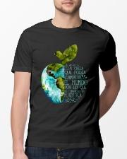 Spanish teacher Classic T-Shirt lifestyle-mens-crewneck-front-13