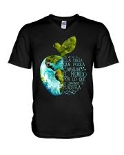 Spanish teacher V-Neck T-Shirt thumbnail