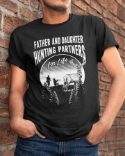 Father And Daughter Classic T-Shirt apparel-classic-tshirt-lifestyle-26