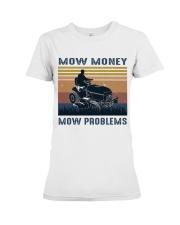 Mow Money Premium Fit Ladies Tee thumbnail