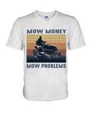 Mow Money V-Neck T-Shirt thumbnail