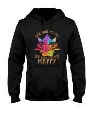Take Time To Do Hooded Sweatshirt front