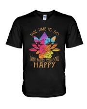 Take Time To Do V-Neck T-Shirt thumbnail
