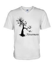 Nevermore V-Neck T-Shirt thumbnail