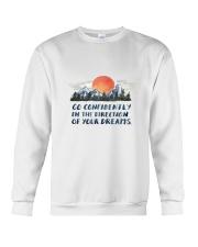 Go Confidently Crewneck Sweatshirt thumbnail