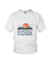 Go Confidently Youth T-Shirt thumbnail
