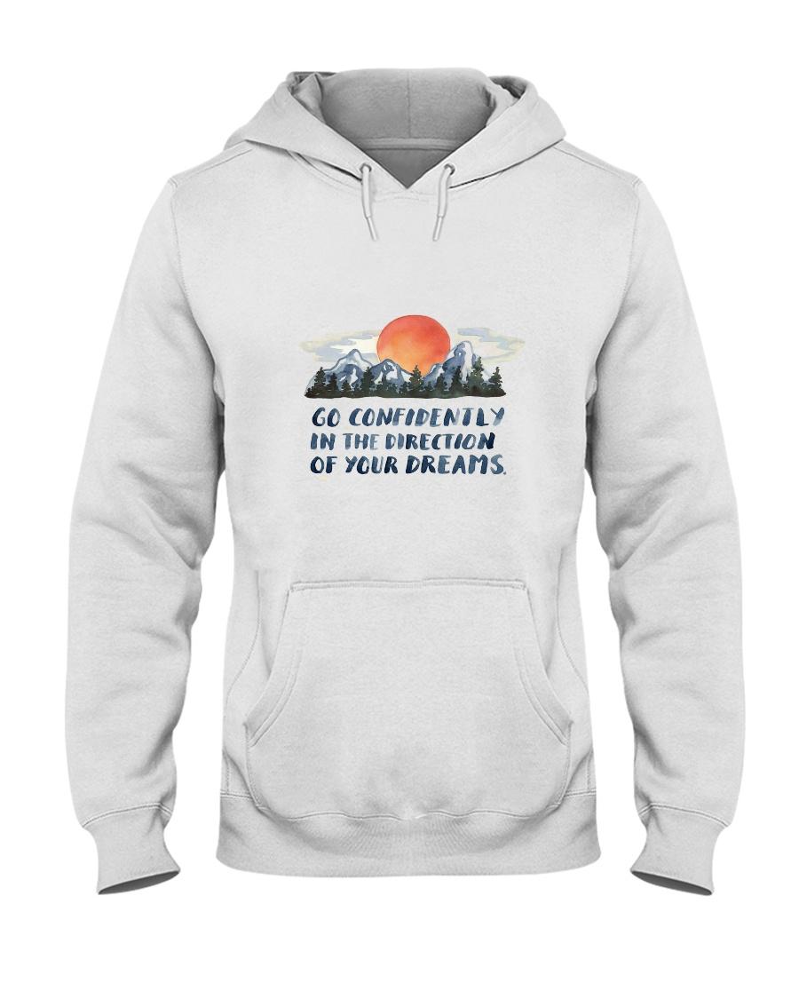 Go Confidently Hooded Sweatshirt