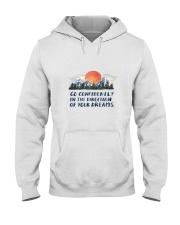Go Confidently Hooded Sweatshirt front